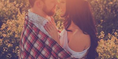 affection_beard_beautiful_flowers_boy_brown_hair_checkered_couple